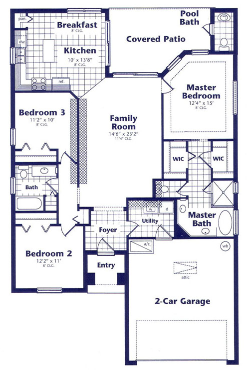 Picture Of Floor Plan For The House
